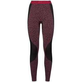 Odlo Blackcomb Pants Women black/cerise/cerise